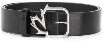 DSQUARED2 Leaf buckle belt