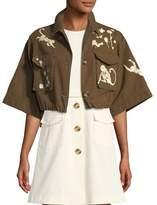 red-valentino-monkey-print-cotton-canvas-short-jacket
