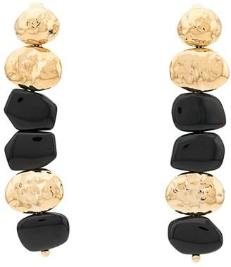 Aurelie Bidermann Honey clip earrings