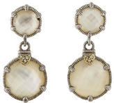 Judith Ripka Doublet Drop Earrings