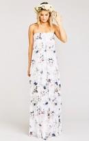 MUMU Sirene Maxi Dress ~ Bouquet Beauty