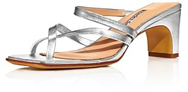 Charles David Women's Henry Strappy Mid-Heel Sandals
