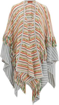 Missoni Fringe Striped Wrap