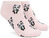 Forever 21 Panda Print Ankle Socks