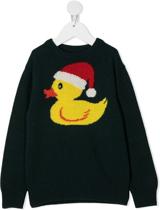 Mc2 Saint Barth Kids Christmas ducky jumper