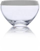 Mikasa Serenity Platinum Small Glass Bowl