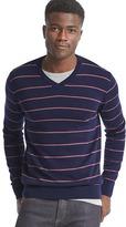 Gap Merino wool stripe slim fit sweater