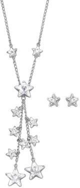 Swarovski Starlight Crystal Necklace & Earring Set