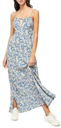 Free People Bon Voyage Floral Midi Dress