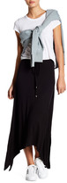 Bobeau Asymmetrical Maxi Skirt