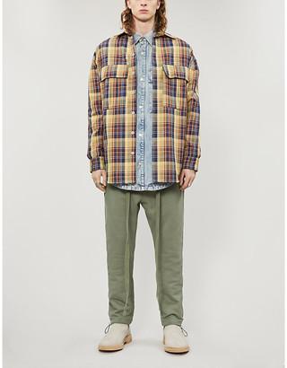 Fear Of God Plaid cotton-twill shirt jacket