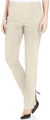 JM Collection Petite Studded Pull-On Pants, Regular & Short