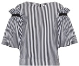 Osman Hilma ruffled striped top