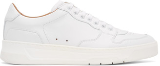 HUGO BOSS White Baltimore Tennis Sneakers