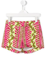 Dondup Kids printed casual shorts