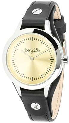 Berydale Women`s Watch with Leather Strap, Quartz Movement