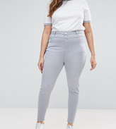 New Look Plus New Look Curve High Waist Skinny Jeans