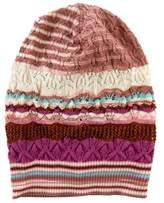 Missoni Patterned Open Knit Beanie