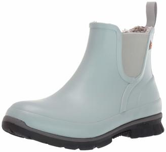 Bogs Women's Amanda Plush Slip On Waterproof Rain Boot