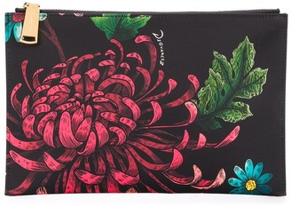 DSQUARED2 Floral Print Clutch
