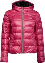 Converse Womens Core Padded Down Hooded Jacket Cosmos Pink