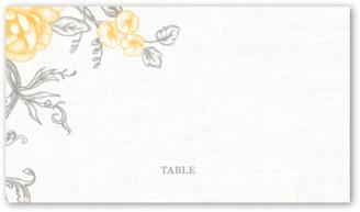 Shutterfly Antique Rose Scrolls Wedding Place Card