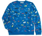 Stella McCartney Boy's Biz Name Print Sweatshirt