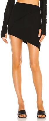 SAMI MIRO VINTAGE Asymmetric Mini Skirt
