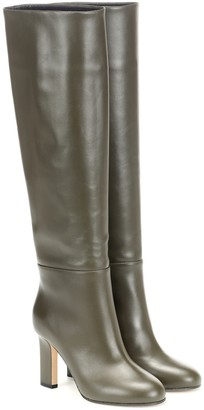 Victoria Beckham Leather knee-high boots