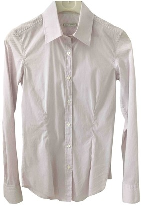 Mauro Grifoni White Cotton Top for Women