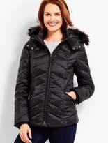 Talbots Short Puffer Jacket