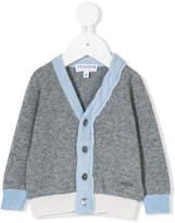 Simonetta contrast trim knitted cardigan