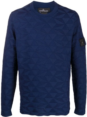 Stone Island Shadow Project Triangle Knit Jumper