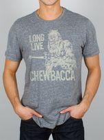 Junk Food Clothing Long Live Chewbacca Tee-steel-m