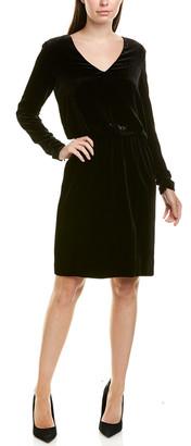 Lafayette 148 New York Josefina Silk-Blend Blouson Dress