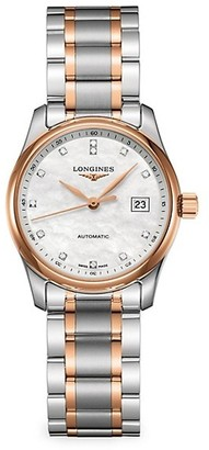 Longines Two-Tone Stainless Steel Bracelet Watch