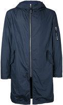 Factotum hooded raincoat - men - Nylon - 44