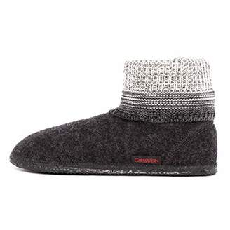 Giesswein Women's Baumkirchen Hi-Top Slippers, Grey (Anthrazit)