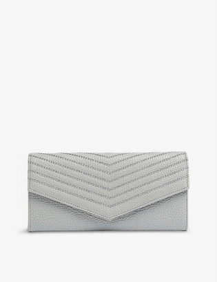 Ted Baker Kkattie quilted leather matinee wallet
