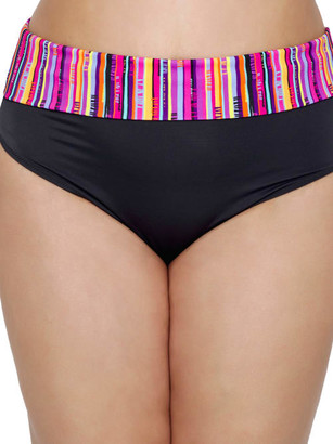 Elomi Plus Size Nomad Fold-Over Bikini Bottom