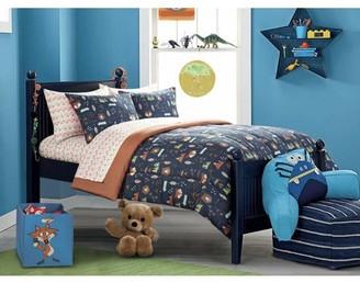 Mainstays Kids American Kids Woodland Safari Boy Bed in a Bag Bedding Set