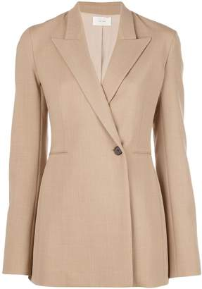 The Row boxy fit buttoned blazer
