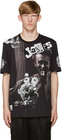 Dolce & Gabbana Black James Dean T-Shirt