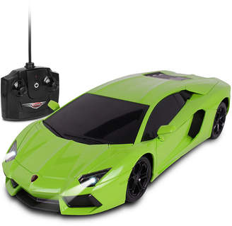 Lamborghini Nkok Luxe 1 is to 18 Scale Radio Controlled Aventador Coupe Rc Colors Vary Orange Green