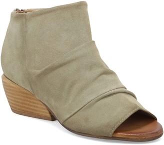 Miz Mooz Ruched Suede Bootie Sandals- Gemma
