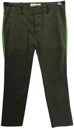 Nili Lotan Green Cotton Trousers for Women