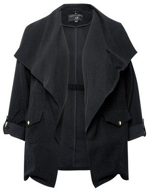 Dorothy Perkins Womens Dp Curve Black Jacket, Black