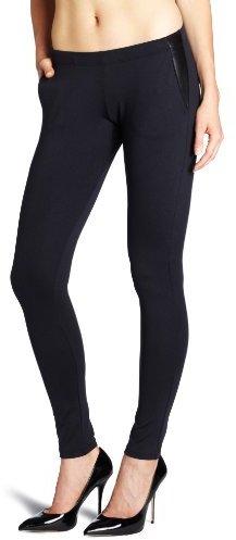 David Lerner Women's Leather Pocket Legging