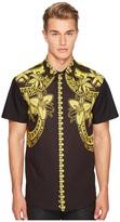 Versace Shirt EB1GPB6RC Men's Clothing