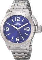 Invicta Men's 0988 Corduba Blue Dial Stainless Steel Watch